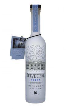 Belvedere vodka from Poland