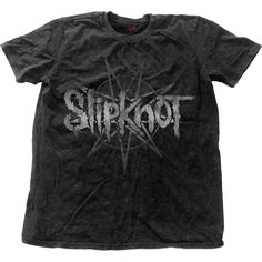 Slipknot Men's Fashion Tee: Logo Star Wholesale Ref:SKSWASH01MB