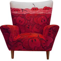 This Cherry Soda chair makes me smile