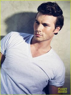 derek theler. He's six foot five, and has Leading Man written all over him!