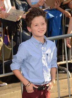 Davis Cleveland at the premiere of The Odd Life of Timothy Green.