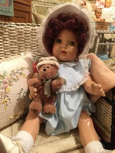 All composition baby doll from the 30's