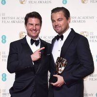 <a href='/name/nm0000129/?ref_=m_rgmi_mi_rg'>Tom Cruise</a> and <a href='/name/nm0000138/?ref_=m_rgmi_mi_rg'>Leonardo DiCaprio</a> at an event for <a href='/title/tt5448304/?ref_=m_rgmi_mi_rg'>The EE British Academy Film Awards</a> (2016)