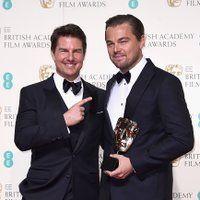 <a href='/name/nm0000129/?ref_=m_rgmi_mi_rg'>Tom Cruise</a> and <a href='/name/nm0000138/?ref_=m_rgmi_mi_rg'>Leonardo DiCaprio</a> at an event for <a href='/title/tt5448304/?ref_=m_rgmi_mi_rg'>The EE British Academy Film Awards</a> (2016)