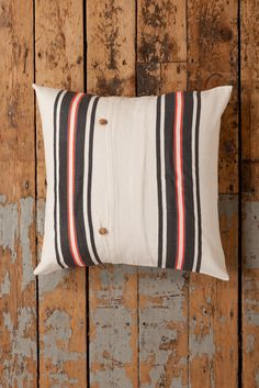 lemlem by Liya Kebede - Doko Large Pillow - Hand woven in Ethiopia.