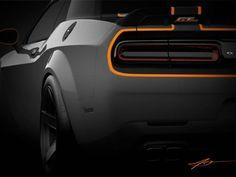 Chrysler Teases All-Wheel-Drive Dodge Challenger Ahead of SEMA