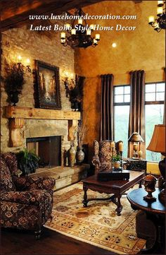 67 Best Old world decor images | Tuscan house, Tuscan style, Entry Tuscan Furniture Designs Modern House Inside Html on