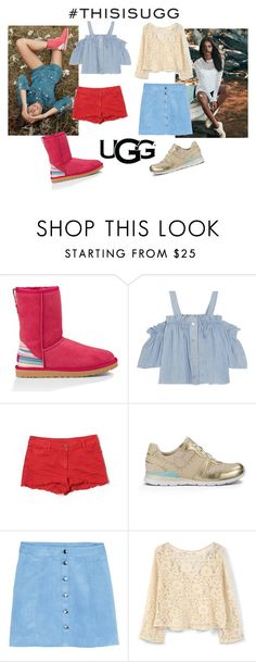 """""""Play With Prints In UGG: Contest Entry"""" by marianvirtua on Polyvore featuring moda, UGG Australia, Steve J & Yoni P, Sandro, MANGO y thisisugg"""