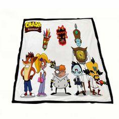 Crash Bandicoot And Friends Fleece Blankets  https://www.artbetinas.com/collections/fleece-blankets/products/dd_crash_bandicoot_and_friends_fleece_blankets