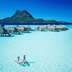 Paddling in Bora Bora St. Regis Hotel #borabora #vacations #bucketlist ☆★☆ Double tap if you like this place ✨☕️ • TAG and SHARE with your friends who would love to visit this place and tag us for a chance to get featured!  ____________________________________________________ Follow Our accounts @izimbozada @smallhotels @musehotels @kucukoteller @lezzetmekanlari ____________________________________________________ Tags: #photooftheday #amazing #igers #picoftheday #bestoftheday #...