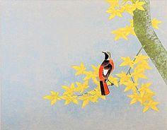 Japanese Art Styles, Japanese Patterns, Japanese Bird, Japanese Things, Autumn Painting, Japanese Painting, National Museum, Character Design, Bird Paintings