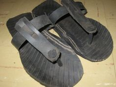 Nifty pair of Tire Sandals :)