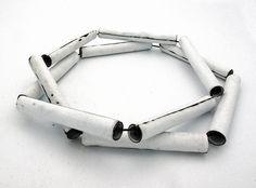 Aran Galligan  - Necklace  Copper, Enamel, Steel  2011