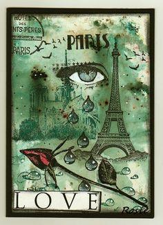 Rosie's Bastelwelt: Paris - beautiful tribute...