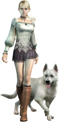 Favorite Game! <3 Haunting Ground by Capcom. I'm going to have a Hewie one day too.