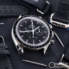 Decisions decisions... Bracelet or Strap, what's your preference? #omega #speed #speedmaster #speedy #speedytuesday #omegaspeedmaster #womw #wus #wis #watch #watches #watchesofinstagram #instagram #instawatch #dailywatch #watchofthefay #watchfam #moon #moonwatch