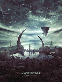 Ancient Times | 3mmi Design | Art of Pierre-Alain D. | Digital artist, graphic designer, illustrator and webdesigner. CD artwork, cd artwork...