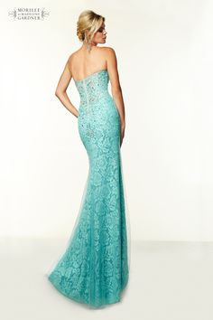 Mori Lee Paparazzi Prom Dress - Style 97012 - Available in Aqua & Ivory/Nude - http://www.pandorasprom.co.uk/