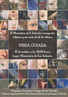 12/10 Iconografia religiosa y Vista desde las alturas.  Oña 19:00h Monasterio de San Salvador. Oña