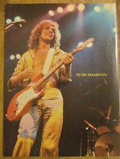Peter Frampton, Full Page Vintage Pinup