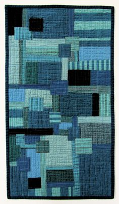 Boro Blues # 2 - Stitched Patched and Quilted Wall Hanging | Flickr - Photo Sharing!