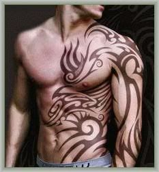 I'm not sure which I prefer...The tattoo or the man ;)