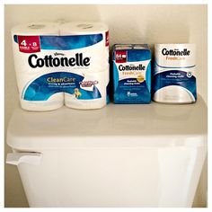 Cottonelle Is Our Family's Choice For Bathroom Tissue