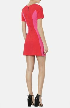 Topshop Colorblock Sheath Dress