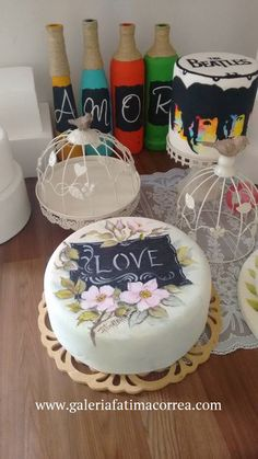 Birthday Cake, Desserts, Food, Design, Hand Painted Cakes, Brazil, Trends, Tailgate Desserts, Deserts