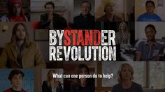 What can one person do to help? Thoughts from 28 of the first contributors to Bystander Revolution—a crowd-sourced collection of simple things you can do.