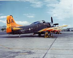 AD-5 (TOW) of Utility Squadron One (VU-1) on the ground at Naval Air Station (NAS) Barbers Point.