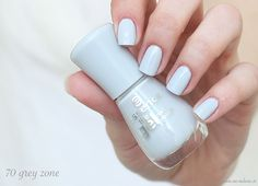 essence the gel nail polish - 70 grey zone