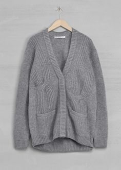 others stories Stricken, Kurze Strickjacke, Graue Strickjacke, Herbst  Pullover, Pullover Wetter, b06f1a7367