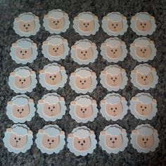 80 beautiful ideas to copy and tutorials - Birthday FM : Home of Birtday Inspirations, Wishes, DIY, Music & Ideas Diy For Kids, Crafts For Kids, Easter Crafts, Cute Elephant Drawing, Eid Favours, Sheep Cupcakes, Eid Stickers, Doll Face Paint, Nursery Frames
