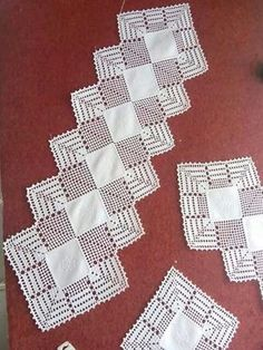 How to Crochet Wave Fan Edging Border Stitch Crochet Edging Patterns, Crochet Doily Patterns, Crochet Borders, Thread Crochet, Filet Crochet, Crochet Doilies, Crochet Lace, Crochet Stitches, Crochet Carpet