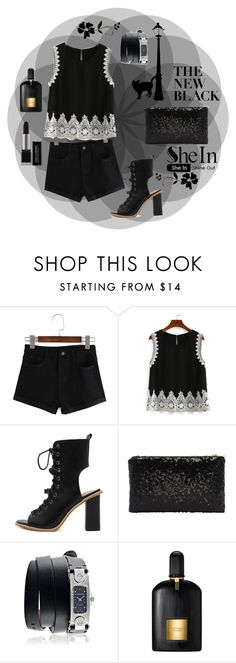 """""""Black"""" by seadbeady ❤ liked on Polyvore featuring Givenchy and Tom Ford"""