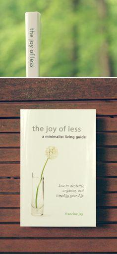 the joy of less - declutter
