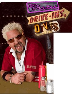 Diners, Drive-Ins, and Dives with Guy Fieri Best Diner, Real Tv, Guy Fieri, Tv Times, Tv Land, Great Tv Shows, Music Tv, Food Network Recipes, Chef Recipes