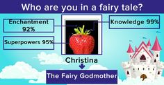 Who are you in a fairy tale?