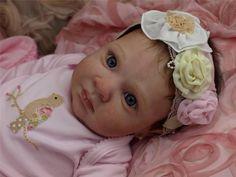 Reborn Baby OOAK - Jessica Schenk - Rowan - Newborn Infant Girl Doll