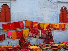 Sari bazaar