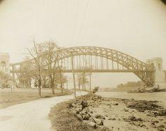 Hell Gate Bridge. 1918-1920