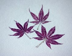 how to make this pretty hammered botanical print
