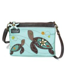 """Sales Producers Inc. - Chala Handbags - Purse Mini Xbody with convertible straps Size: 8"""" x 0.5"""" x 6"""""""