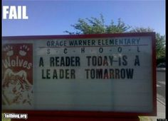 To be fair, tomorrow is really hard to spell...