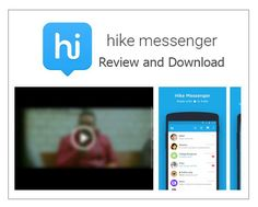 Hike Messenger Review and Download - TrendEbook