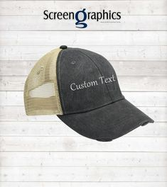 1b35dbde Distress Baseball Hat/Custom hat/Embroidery hat/Custom Embroidery Hat/ Personalized Baseball Cap