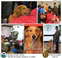 It was an honor and pleasure participating in Mulberry Public Library's programming over the past two days. Yesterday's Until Tuesday event was #Awesome! — with Tuesday. [Jan. 9, 2016]