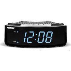 digital alarm clock alarm clock radio and retro style on pinterest. Black Bedroom Furniture Sets. Home Design Ideas