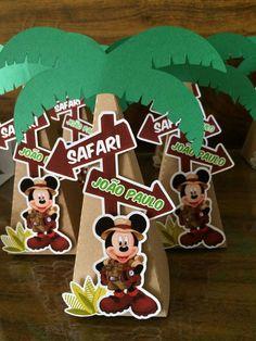 Bolo Mickey Safari, Theme Mickey, Fiesta Mickey Mouse, Baby Mickey, 2nd Birthday Party For Boys, Safari Theme Birthday, Safari Birthday Party, Birthday Party Decorations, Mickey Baby Showers